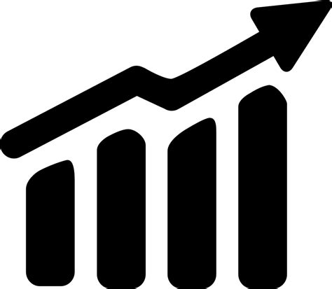 Upward Trend Svg Png Icon Free Download 124791