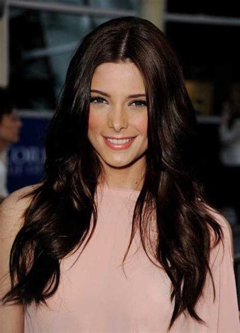 Darkest Brown Hair by 20 Brown Hair Colour Hairstyles And Haircuts