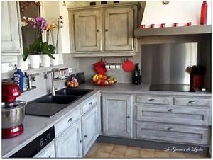 Relooker Meuble Cuisine : relooking d 39 une cuisine esprit industriel renov cuisine pinterest relooker cuisine ~ Mglfilm.com Idées de Décoration