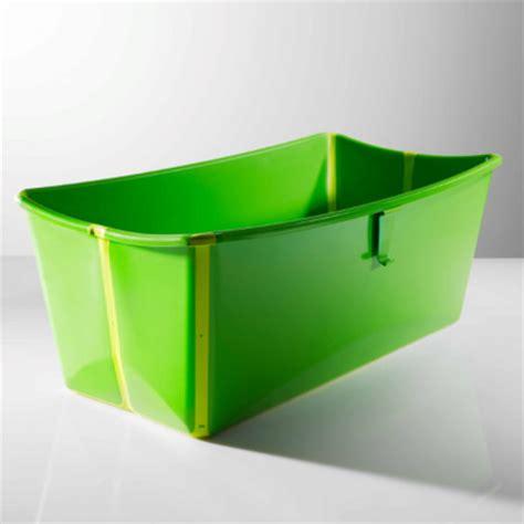 baignoire pliable flexibath vert acheter ce produit au