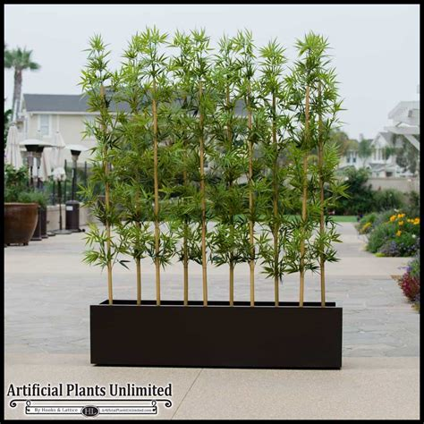 outdoor faux plants artificial bamboo uv resistant artificial outdoor bamboo