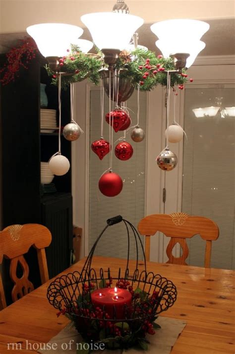 Country Dining Room Ideas Pinterest by 25 Unique Christmas Chandelier Decor Ideas On Pinterest