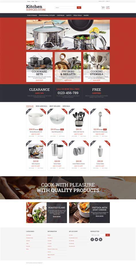 magasin d article de cuisine thème prestashop adaptatif 57609 pour magasin d 39 articles