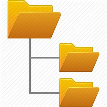 Folder Structure Icon Folders Directory Tree System