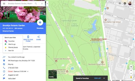google maps enables creating sharing lists on desktop