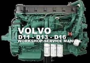 Volvo Marine    Truck Engine D11 Service Repair Manual