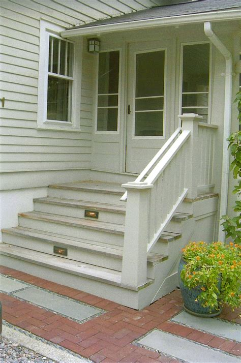 front porch stairs gthree net front back porches decks