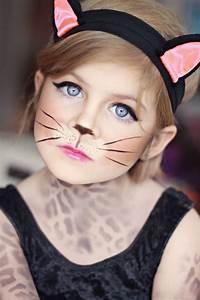 Maquillage Enfant Facile : maquillage chat halloween en 20 id es facile r aliser ~ Melissatoandfro.com Idées de Décoration
