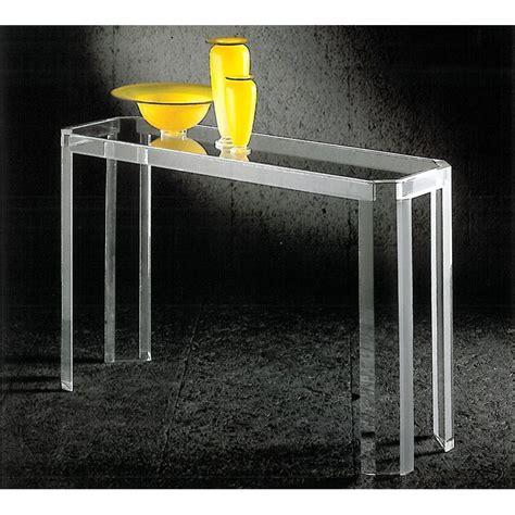 couleur chambre de nuit console transparente athena un meuble design en plexiglas