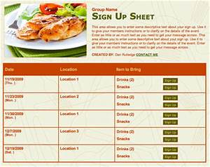 search results for baby shower potluck list template With potluck menu template