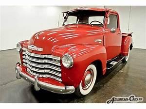 Pick Up Chevrolet 1950 : chevrolet 3100 pickup 1950 voiture d 39 importation american cars ~ Medecine-chirurgie-esthetiques.com Avis de Voitures