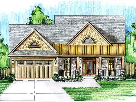 Plan 39174ST: 4 Bed House Plan with Oversized Front Porch