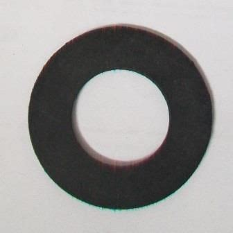 bath tap overflow flat rubber washer   pack