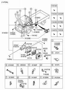 Control Wiring  02  02  Kia K2500  K2700  K2900  K3000s 04