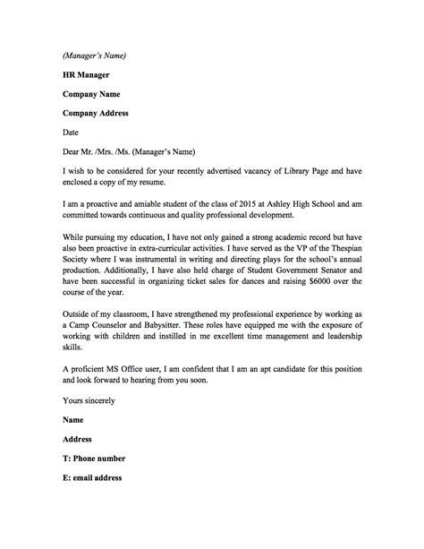 cover letter cv library 28 images cover letter cv