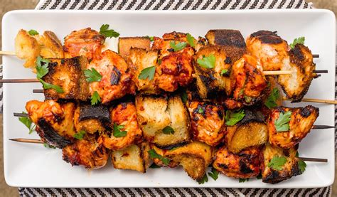 Food Recipes : Best Italian Chicken Skewer Recipe-how To Make Italian