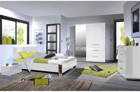 chambre adulte design chambre design laqué blanche et chrome trendymobilier com