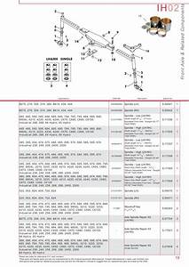 Case Ih Catalogue Front Axle  Page 25