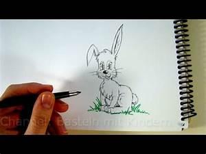 Zeichnungen Mit Bleistift Für Anfänger : zeichnen lernen osterhase zeichnen hasen mit bleistift zeichnen kaninchen malen f r ostern ~ Frokenaadalensverden.com Haus und Dekorationen