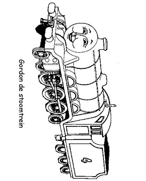 Kleurplaat Gordon De Trein de trein kleurplaten gordon de sroomtreinr