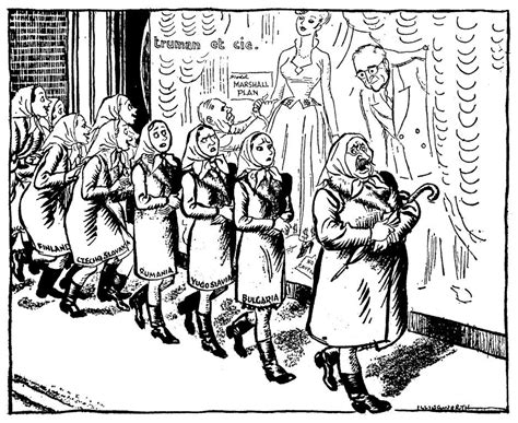Cartoon By Illingworth On The Ussr's Position Regarding