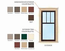 Exterior Window Color Schemes by Craftsman Bungalow Home Style