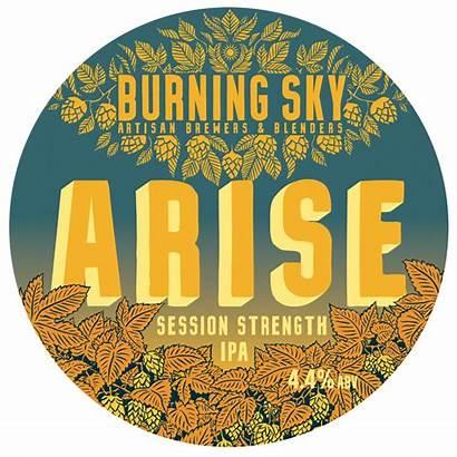 Burning Arise Sky Sheltonbrothers Beer