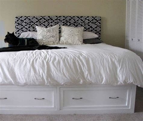 diy king storage bed knockoff pottery barn stratton