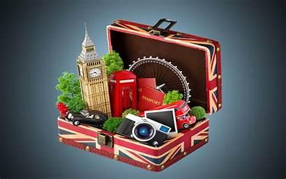 Travel London Bag 3d Amazing Backgrounds Background