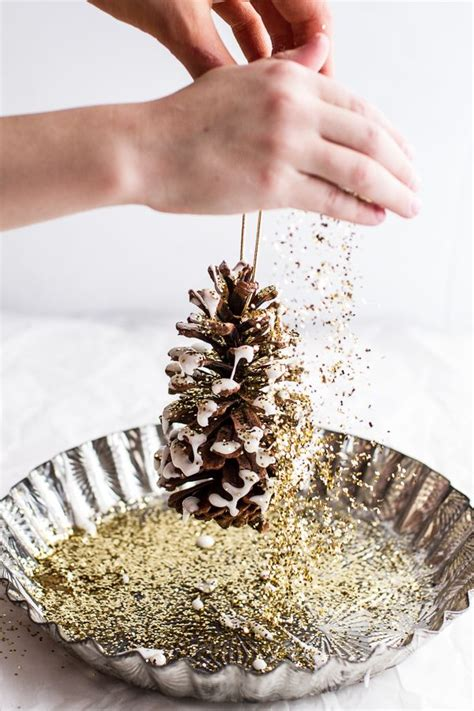 diy pine cone christmas ornaments 1000 ideas about homemade christmas ornaments on pinterest homemade christmas christmas