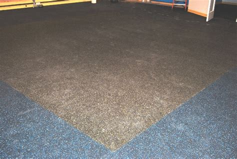 Rubber Flooring For Basement Quot Eco Sport 3 4 Inch