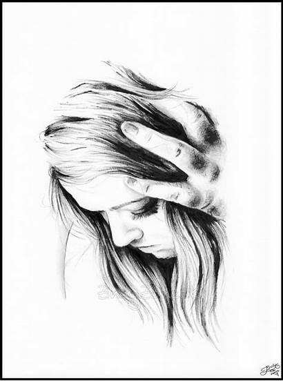 Zindy Drawings Leave Ink Drawing Deviantart Hurt