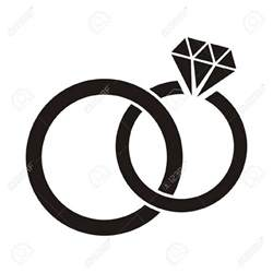 catholic wedding programs black and white wedding ring clipart 101 clip
