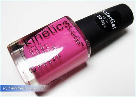 Kinetics Parrot In The Bar Solar Gel Nail Polish Review