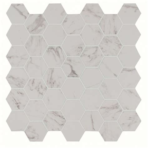 ms international carrara hexagon 12 in x 12 in x 10 mm