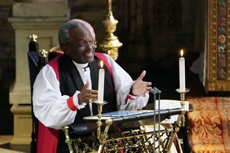 bishop michael curry  stole  show   sermon