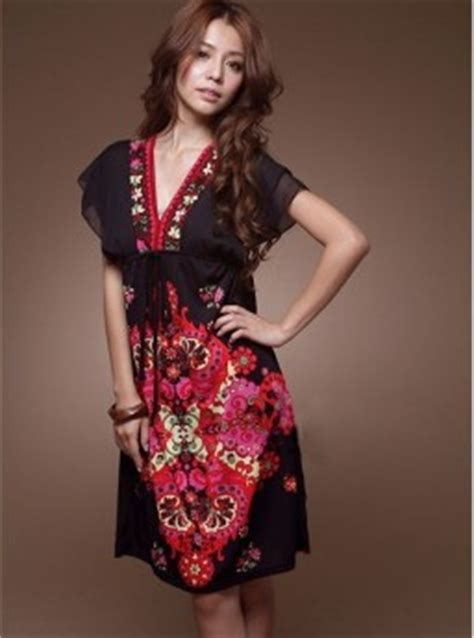 dress wanita model kimono jepang jual model terbaru