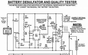 Diy Battery Desulfator Schematic