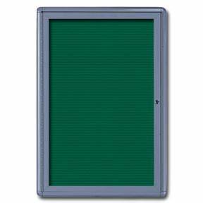 Radius design enclosed letter board 24w x 36h custom for Felt letter board replacement panel