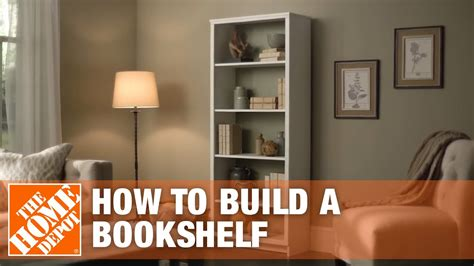 diy bookshelf simple wood projects  home depot