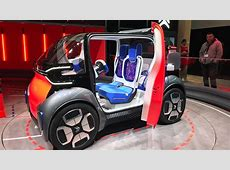 Citroen Ami One concept dinky concept is mobility problem