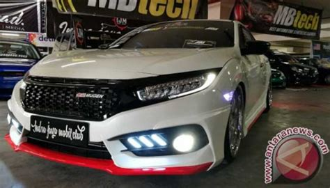 Modifikasi Honda Civic Hatchback by Modifikasi Ringan Honda Civic Hatchback Ini Habiskan Rp