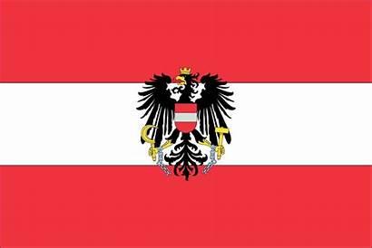 Flag Austrian Austria Flags Printable Eagle Meaning