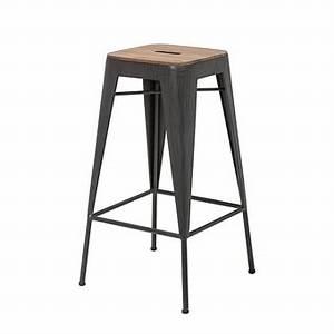 Tabouret 70 Cm : tabouret de bar marron dans tabouret de bar achetez au meilleur prix avec ~ Teatrodelosmanantiales.com Idées de Décoration