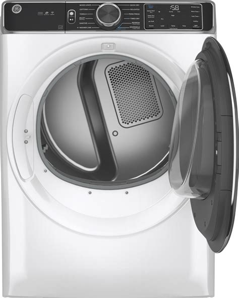 gfdessnww ge   cu ft electric power steam dryer wifi washer link white