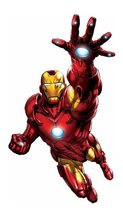 Iron Transparent Comic Marvel Clipart Pinclipart