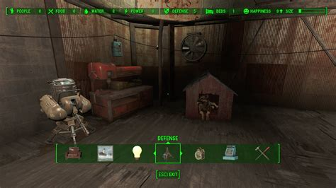 Fallout 4 Home Plate Interior : Home Plate Full Workbench