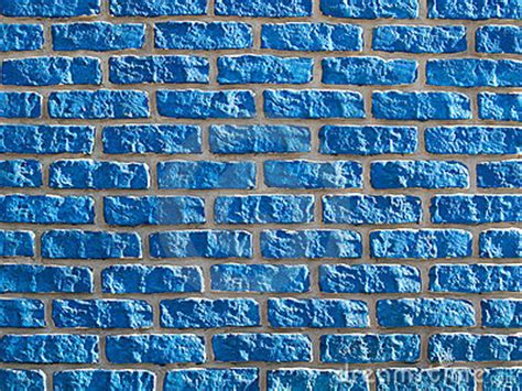 blue brickwall background royalty free stock