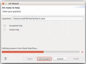 Stack Overflow Eclipse Plugin