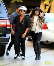 Bruno Mars Girlfriend Jessica Caban